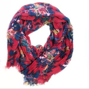 🌿Free W/ Purchase Feathers by Tolani Red Scarf